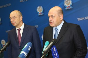 Михаил Мишустин и Антон Силуанов