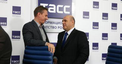 Михаил Мишустин на пресс-конференции продемонстрировал работу Единого реестра субъектов малого и среднего предпринимательства