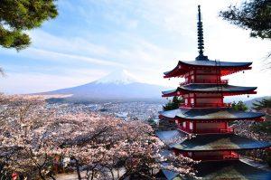 Япония Фудзи